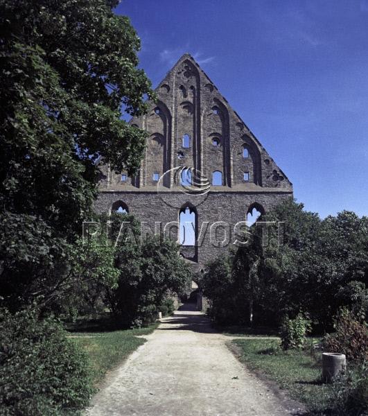 Ruins of St.Brigitta (St. Bridget) convent